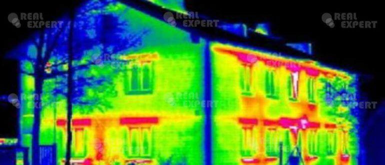 Тепловизионные обследования зданий и сооружения