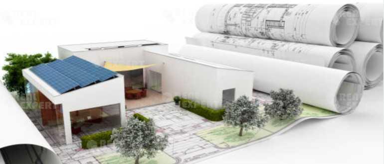 Схема земельного участка и дома